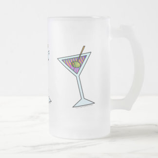 MARTINI FROSTED STEIN