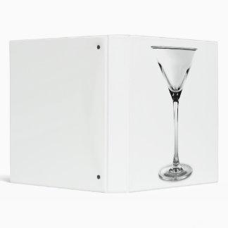 martini glass 3 ring binder