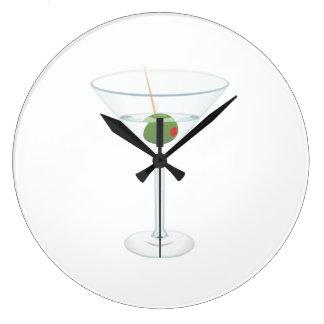 Martini Glass Wallclocks