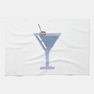 Martini Glass Kitchen Towel