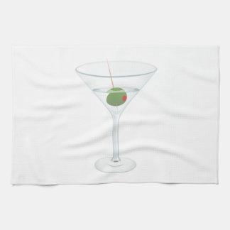 Martini Glass Towels
