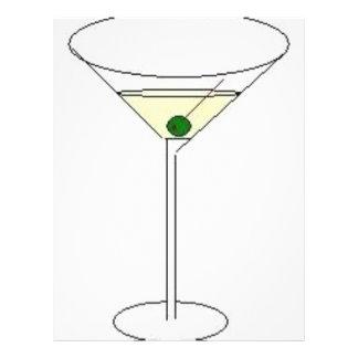 Martini Glass Letterhead