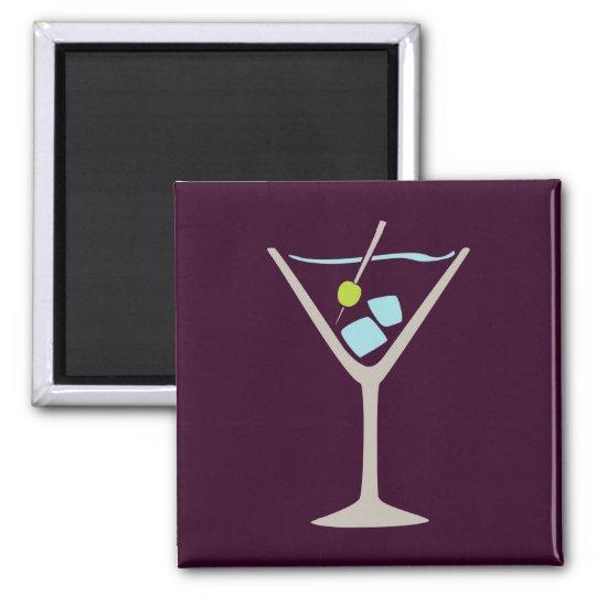 Martini Glass Magnet