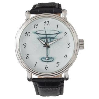 Martini Glass Sketch Wristwatch
