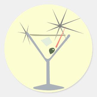Martini Glass Stickers