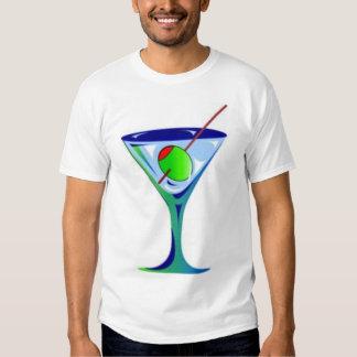 Martini Glass Tee Shirt