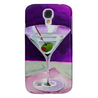 Martini Glass with Olive Galaxy S4 Case