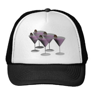 martini glasses cocktail hours cap