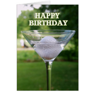 martini_golf_ball_happy_birthday_card r59f194a523a84605a46cffb399b3a086_xvuat_8byvr_307?rvtype=content funny golf birthday cards greeting & photo cards zazzle