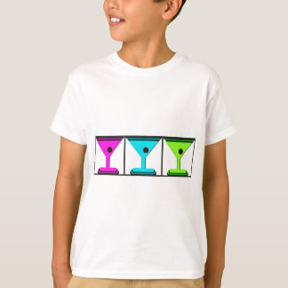 MARTINI GRAPHIC PRINT COLLAGE T-Shirt