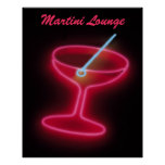 Martini Lounge Poster