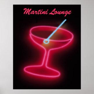 Martini Lounge Poster