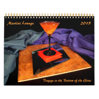 Martini Lounge - Voyage to the Bottom of the Glass Calendar