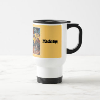 Martini Madness 15 Oz Stainless Steel Travel Mug