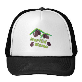 Martini Mama Trucker Hat