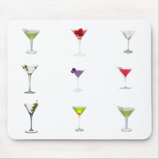 Martini Mouse Pads