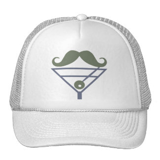 Martini Moustache hat - choose color