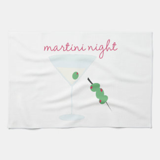 Martini Night Kitchen Towels