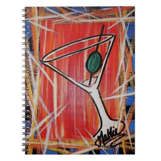 Martini Night Notebook