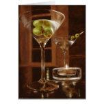 Martini no 5 greeting card