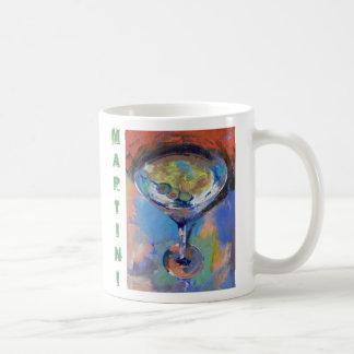 Martini Oil Painting Mug