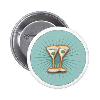 Martini Party Button