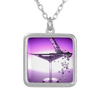 Martini Personalized Necklace