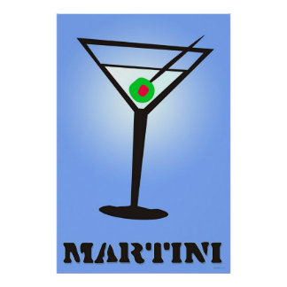 Martini Poster