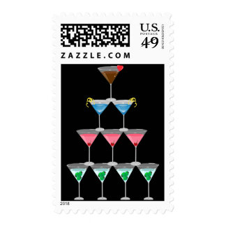 Martini Pyramid Stamps