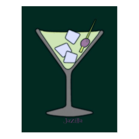 Martini Quick Lime Postcard