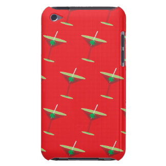 Martini red barely there iPod covers