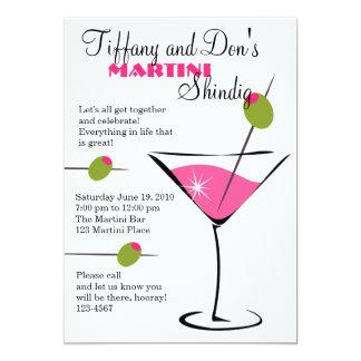 Martini Shindig! Card