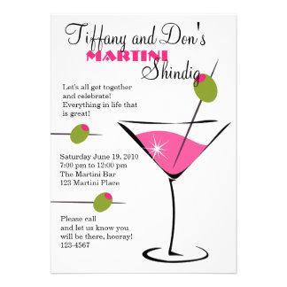 Martini Shindig! Custom Invitation