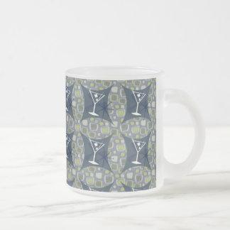 Martini Swing! Frosted Glass Coffee Mug