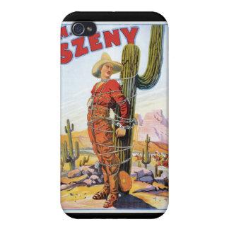 Martini Szeny ~ Vintage Cowboy Wonder Magic Act iPhone 4 Cover