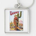 Martini Szeny ~ Vintage Cowboy Wonder Magic Act Key Chain