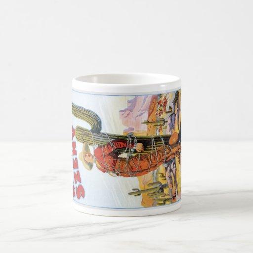 Martini Szeny ~ Vintage Cowboy Wonder Magic Act Classic White Coffee Mug