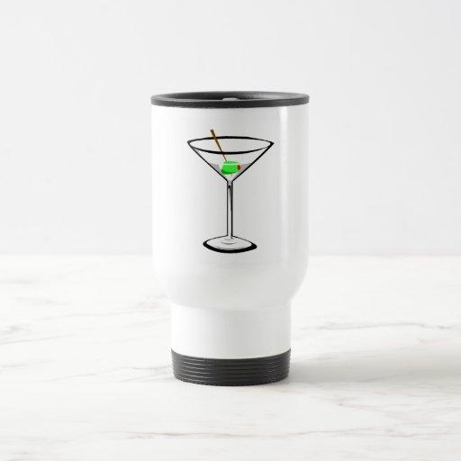 Martini Taza De Viaje De Acero Inoxidable