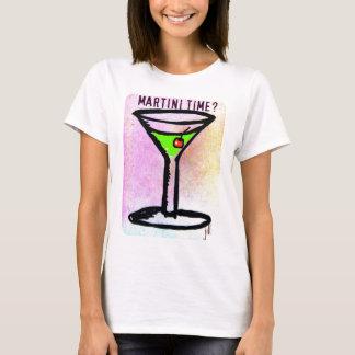 MARTINI TIME APPLETINI PASTEL PRINT by jill T-Shirt