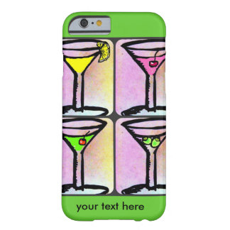 MARTINI TIME BRIGHT BARELY THERE iPhone 6 CASE