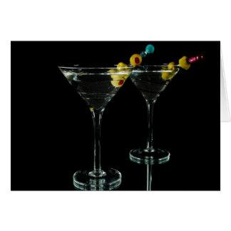 Martini Time Card