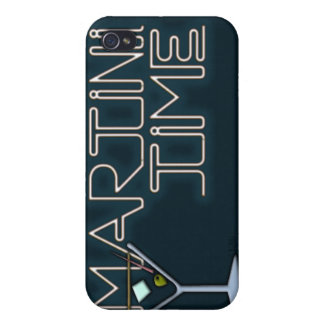 Martini Time iPhone 4/4S Cases