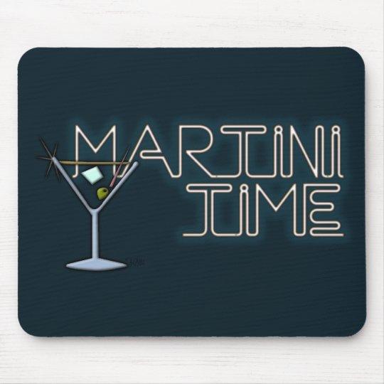 Martini Time Mouse Pad