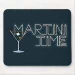 Martini Time Mouse Pads
