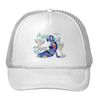 martini Time Trucker Hat