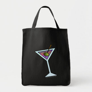 MARTINI TOTES & GROCERY BAGS