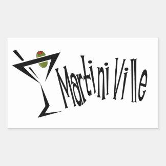 Martini Ville Stickers