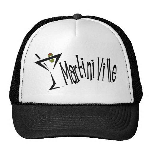 Martini Ville Trucker Hat