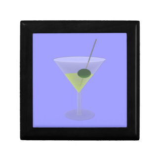 Martini With Olive Gift Box