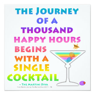 Funny happy hour invitations announcements zazzle martini zen happy hour invitation stopboris Gallery